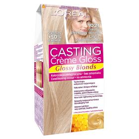 L'Oréal Paris Casting Crème Gloss Farba do włosów 1021 Jasny perłowy blond