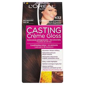 L'Oréal Paris Casting Crème Gloss Farba do włosów 432 Czekoladowe Espresso