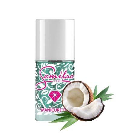 Semilac Oliwka do manicure – kokosowa 12 ml